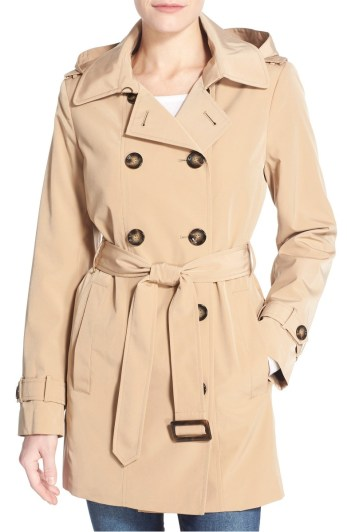 Calvin Klein Double Breasted Trench Coat from Nordstrom