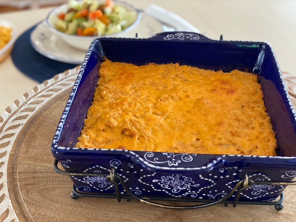 Easy and Lite Buffalo Chicken Bake 2