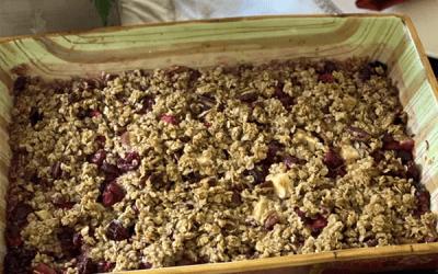 Easy Cranberry Apple Bake