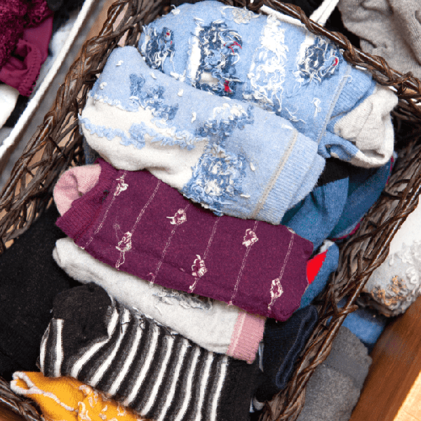 How To Organize and Repurpose Your Socks
