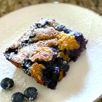 Grandma's Easy Blueberry Cobbler — Great With Any Fruit!