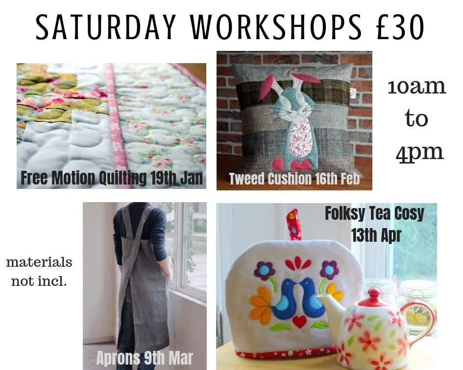 Saturday Workshops 2019