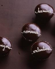 Handwritten Valentine Cupcakes