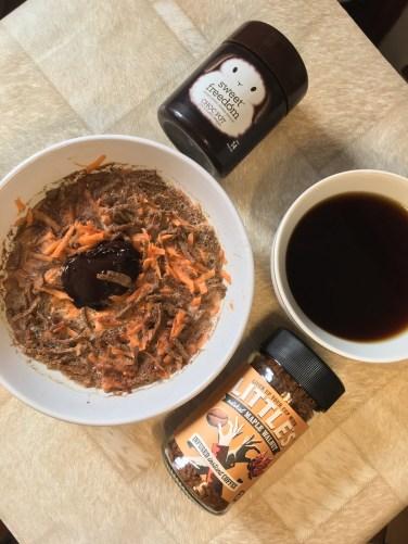 Carrot & Chocolate High Bran