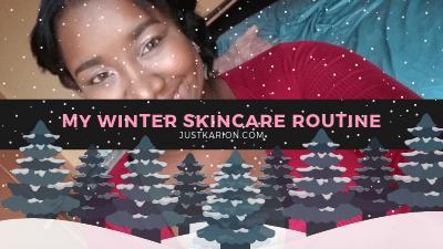 Blogmas 2018 Day 10 - My Winter Skincare Routine