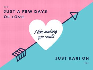 few days of love