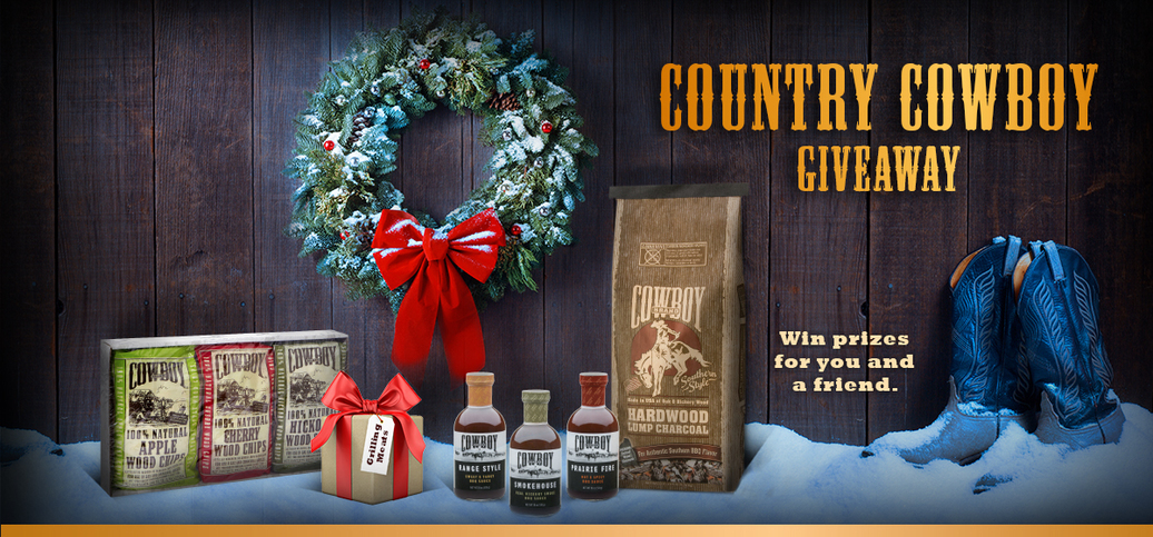 Cowboy Charcoal Country Cowboy Giveaway