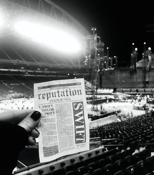 Taylor Swift reputation Stadium Tour Seattle