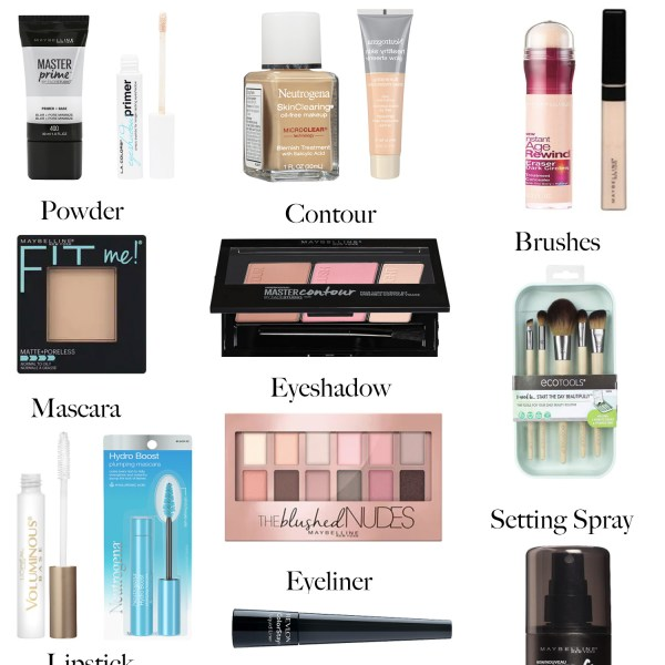 My Go-To Drugstore Makeup