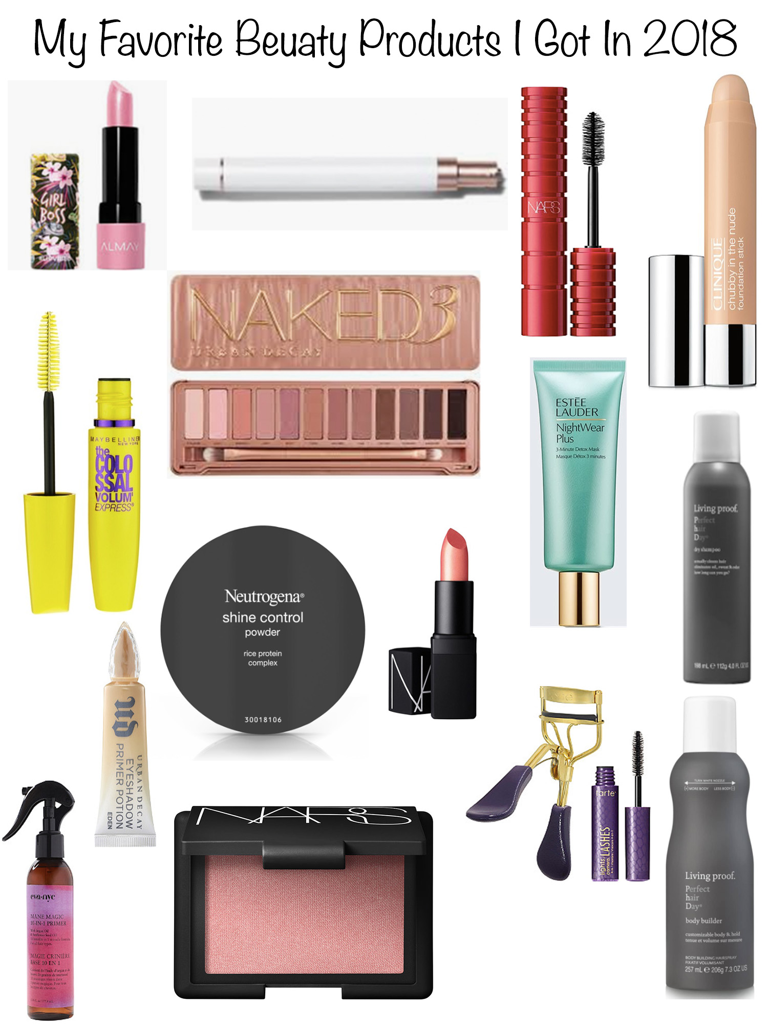 my favorite beauty products i got in 2018