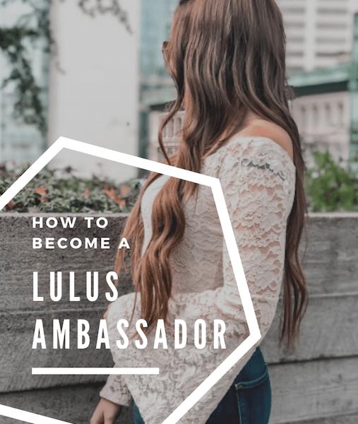 How to Become a Lulus Ambassador