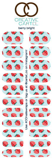 Berry Bright - My personal favorite for summer