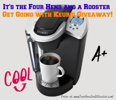 Keurig Coffee System giveaway