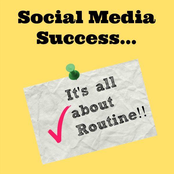 social media routine
