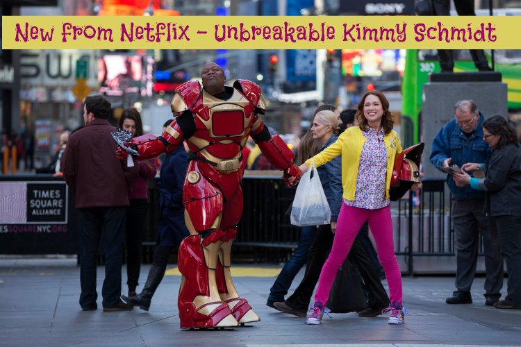 unbreakable kimmy schmidt is a great new series on netflix from tina fey