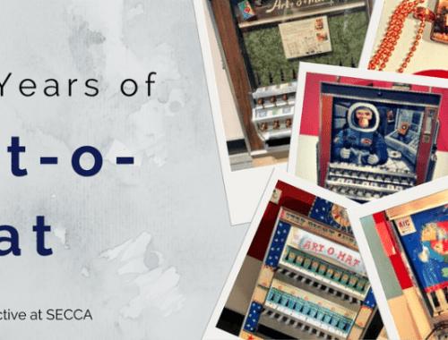 Art-o-mat 20th anniversary exhibit at SECCA