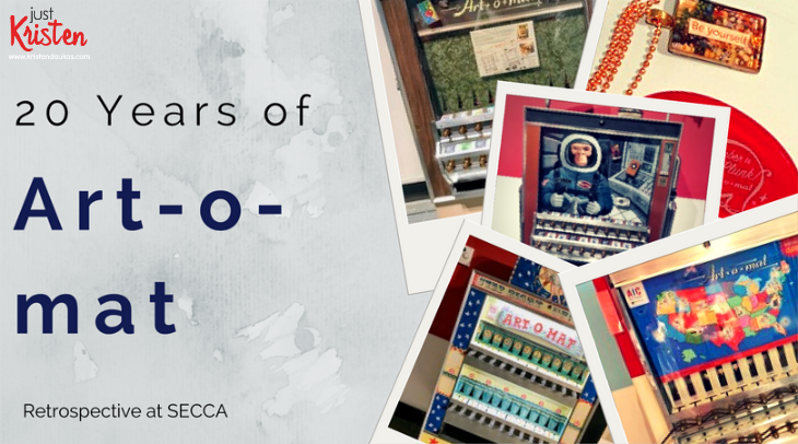 Art-o-mat 20th anniversary exhibit at SECCA