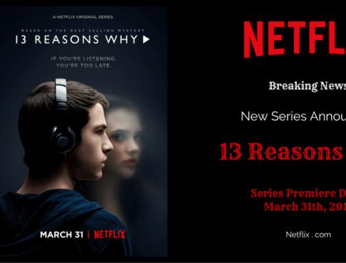 Netflix Announces Date for New YA Drama: 13 Reasons Why