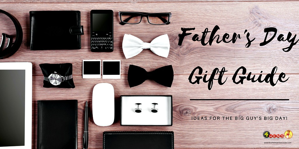 2016 Father's Day gift guide - get dad the gift that will make him smile all day!