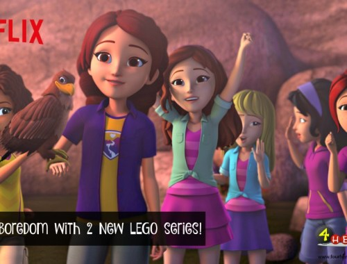 New LEGO series premiering on Netflix this month!