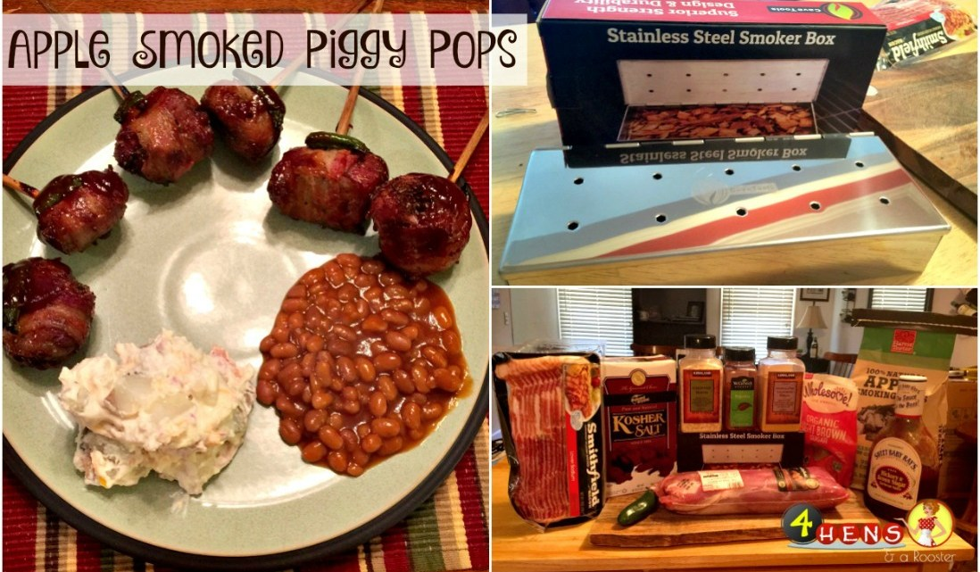 Making Apple Smoked Piggy Pops with Cave Tool Smoker Box