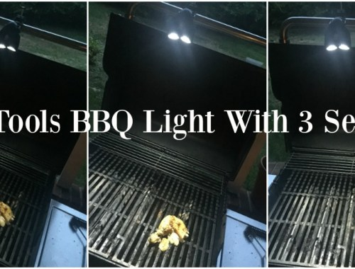 Grilling in the dark is no problem with the BBQ light from Cave Tools