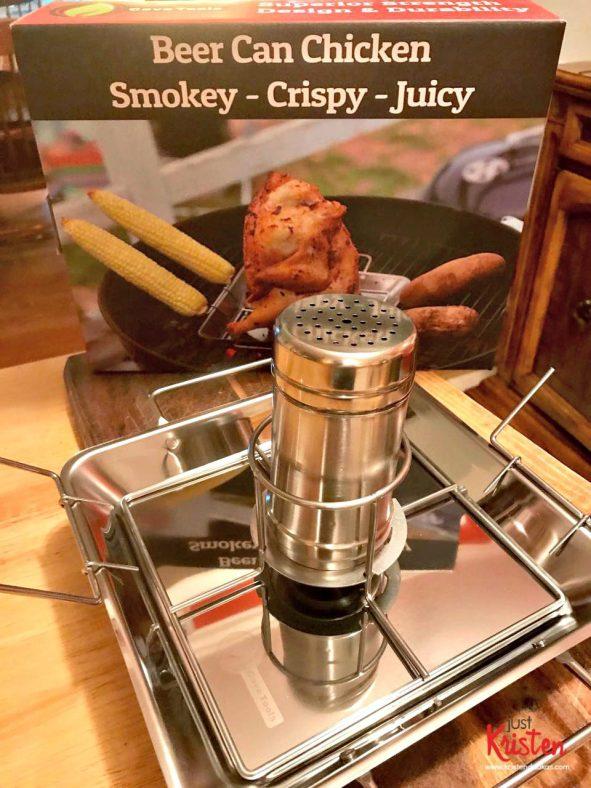 Beer Can Chicken Roasting Rack & Vegetable Spikes