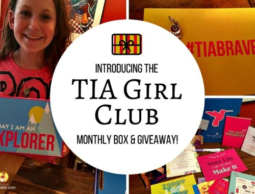 TIA Girl Club monthly subscription box for tween girls and we're giving one away!