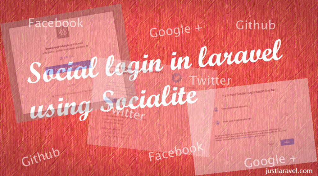 Laravel Social Login using Socialite