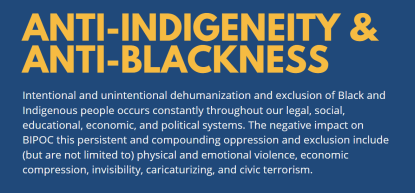 Anti-Indigeneity & Anti-Blackness