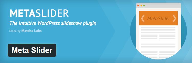 Meta Slider Most Popular Free WordPress Plugins slider