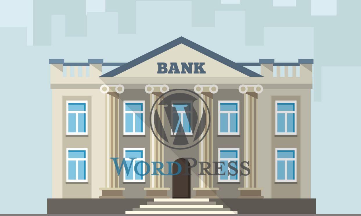 Build Bank Website With WordPress