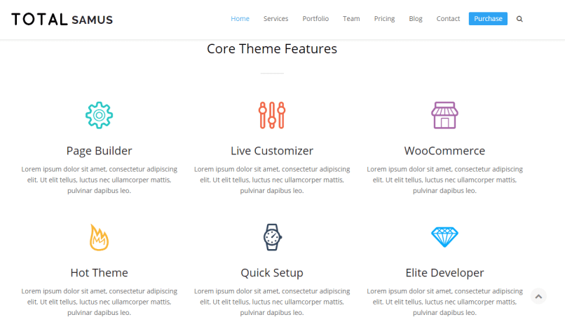 Total Theme Premium Responsive WordPress Themes