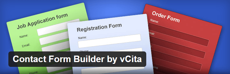 Contact Form Builder by vCita Contact Form Maker WordPress Plugins