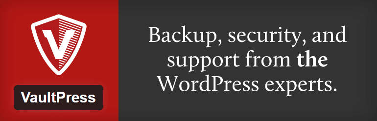 VaultPress - must have WordPress plugins for business websites
