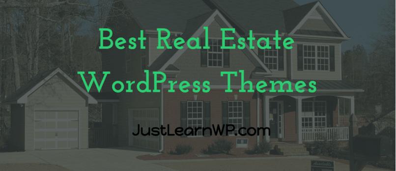 Best free and premium Real Estate WordPress Themes 2017 2018