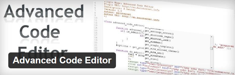 Advanced Code Editor - WordPress Theme Editor Plugin