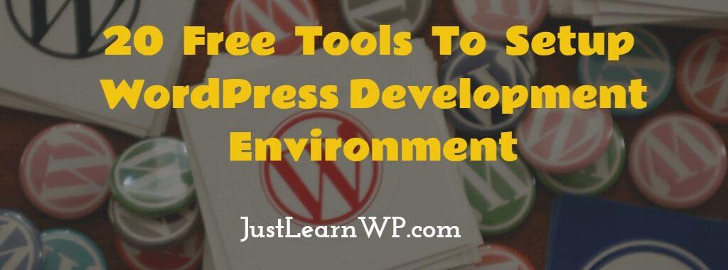 Setup WordPress Development Environment