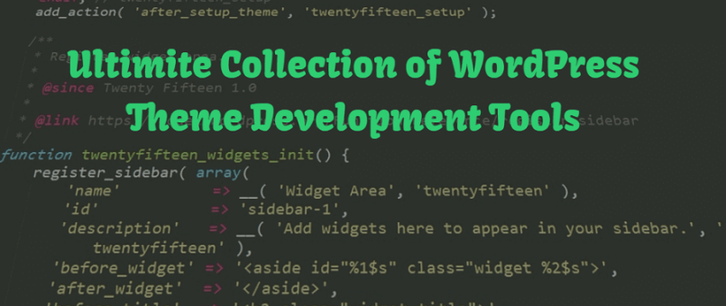 Best WordPress Development Tools collection