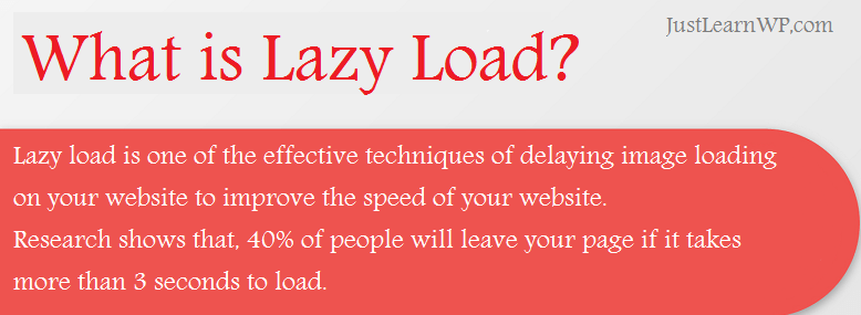 what is lazy load WordPress plugins
