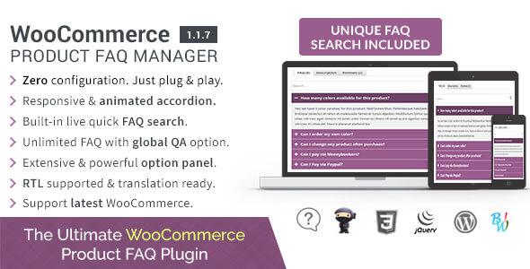 WooCommerce Product FAQ Manager
