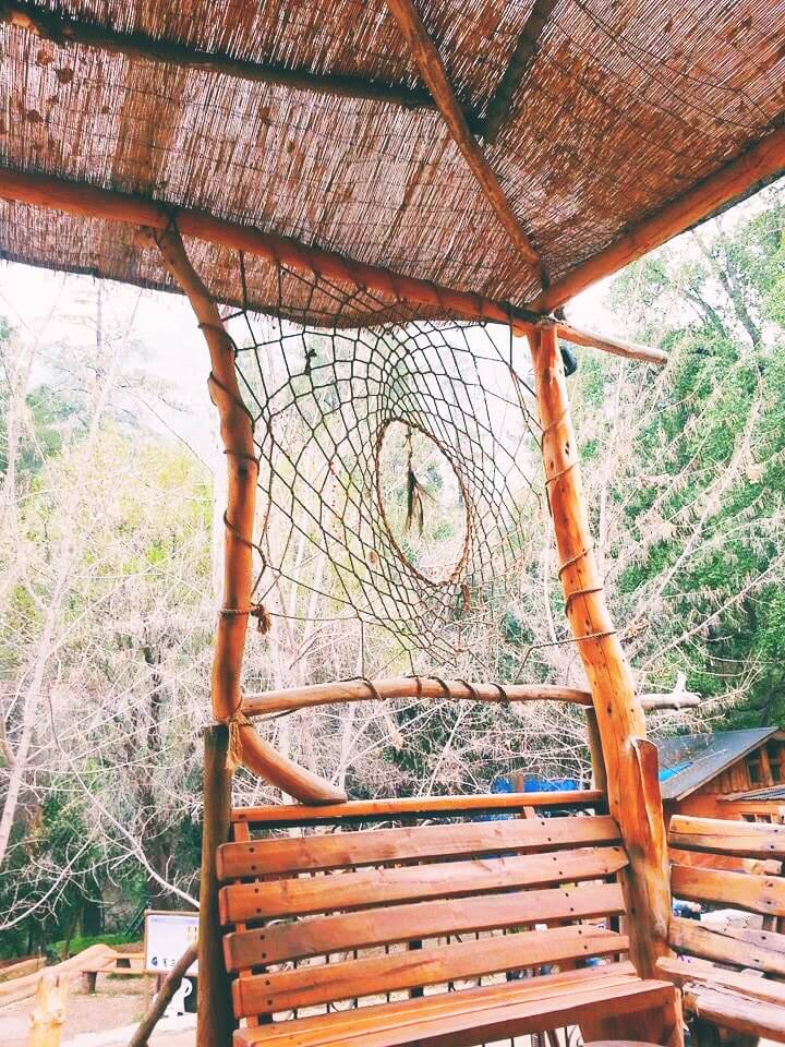 Dreamcatcher at ranch in Chile
