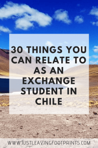 30 Things You Can Relate to as an Exchange Student in Chile