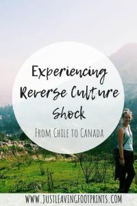 Experiencing Reverse Culture Shock from Chile to Canada