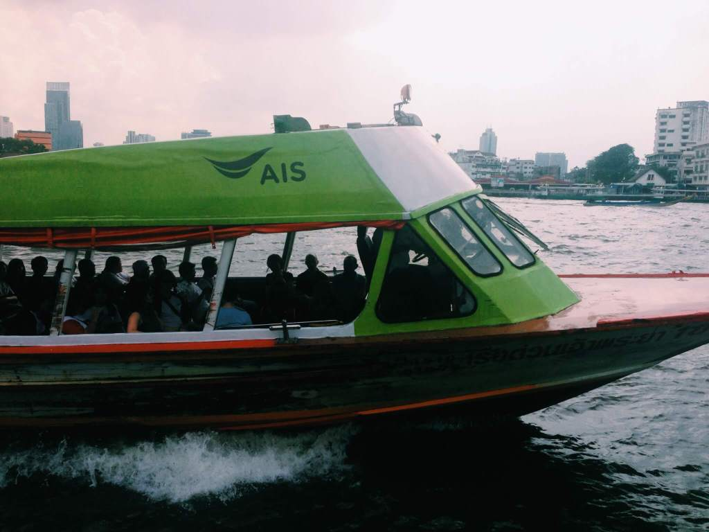 Travel with Anxiety | Bangkok Water Taxi