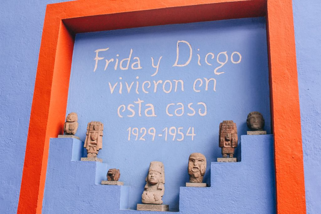 My Visit to La Casa Azul in Coyoacán