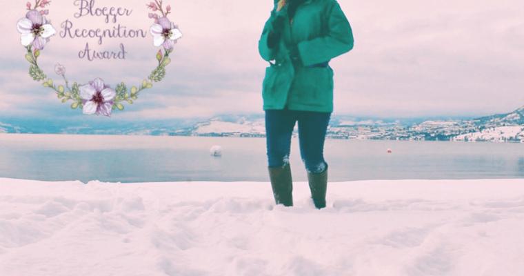 Blogger Recognition Award Nomination: Just Leaving Footprints