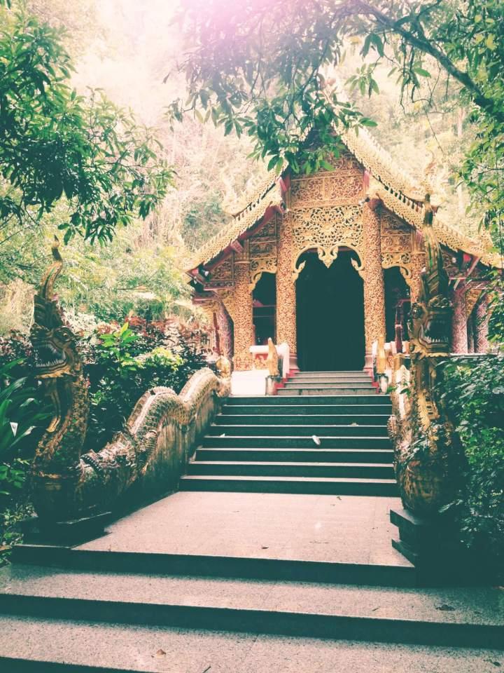 Hidden Temple in the Jungle