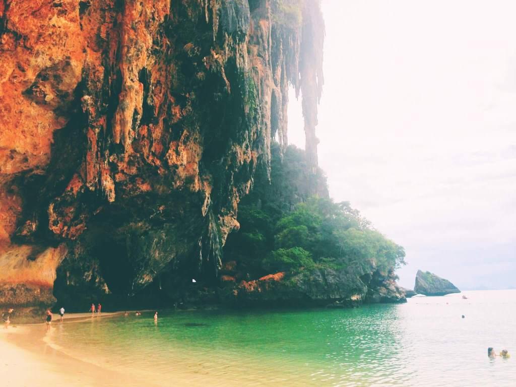 Beach Cliffs in Thailand | Go to Thailand