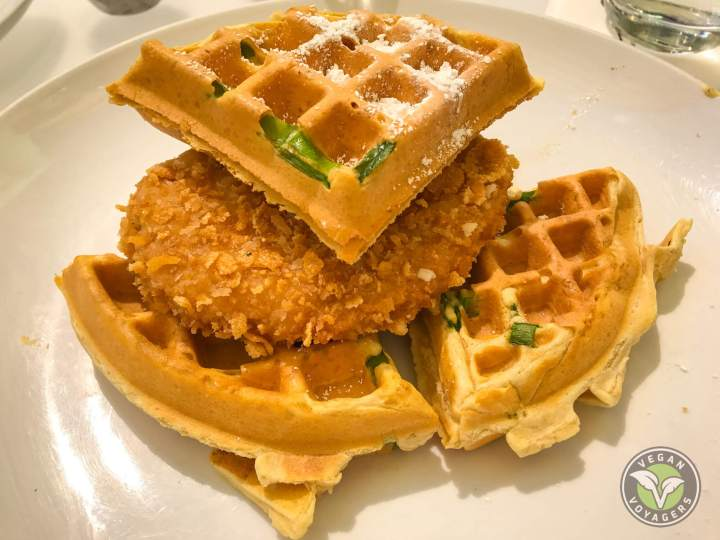 Chick'n and Waffles